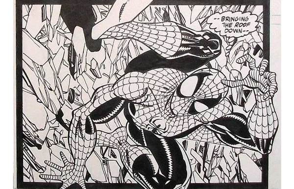 #2 Erik Larsen Original Art