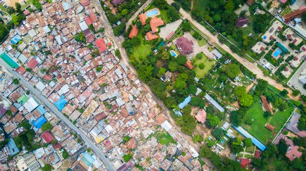 Drohnen-Projekt: So unterschiedlich sehen Nachbarschaften aus der Luft aus