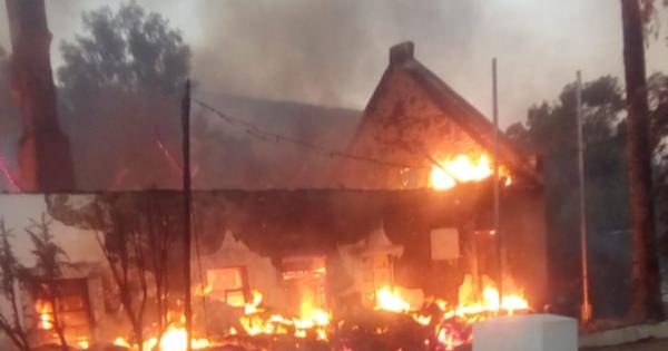 Fire destroys parts of Wupperthal | eNCA
