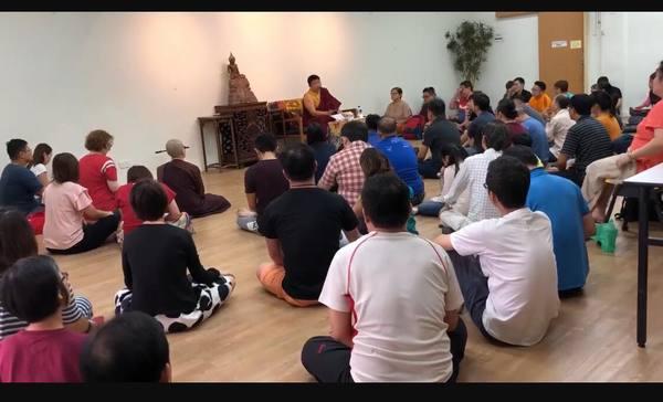Phakchok Rinpoche Teaching in Singapore