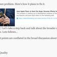 "Apple's Software ""Problem"" and ""Fixing"" It"
