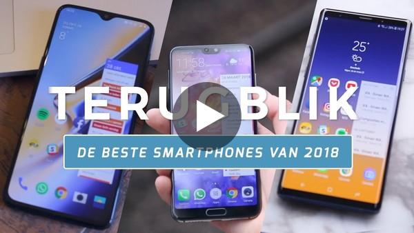 Dit waren de beste smartphones van 2018