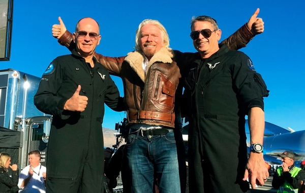 Virgin Galactic Reaches Space