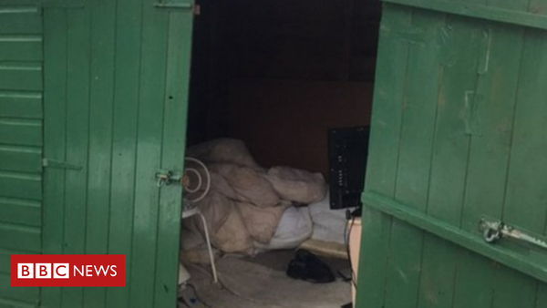 Cumbria slavery probe: Man 'lived in shed for 40 years' (BBC News)