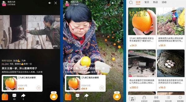 Comment des milliers d'agriculteurs chinois dopent leurs ventes grâce à des lives vidéo