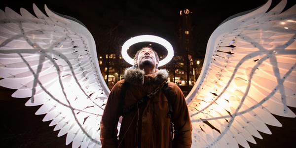Op de foto als een engel - EventGoodies