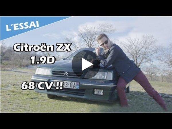 L'ESSAI - Citroën ZX 1.9D : Un turbo ? Pour quoi faire ? - Vilebrequin