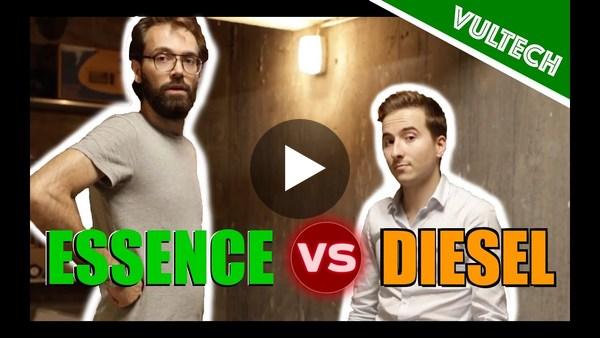 ESSENCE VS DIESEL : Lequel choisir ? - Vultech - Vilebrequin