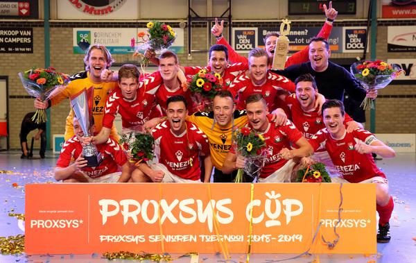 'Eindelijk' is de Cup voor GJS