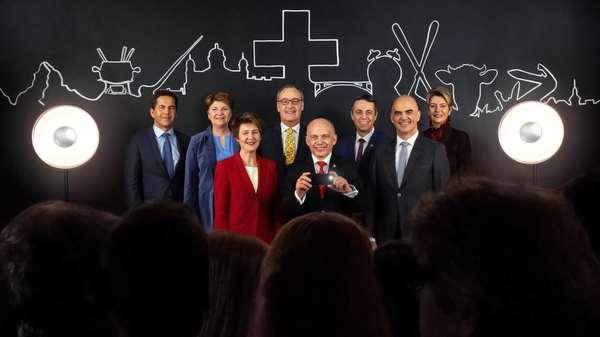Was das neue Bundesratsfoto über die Schweiz verrät