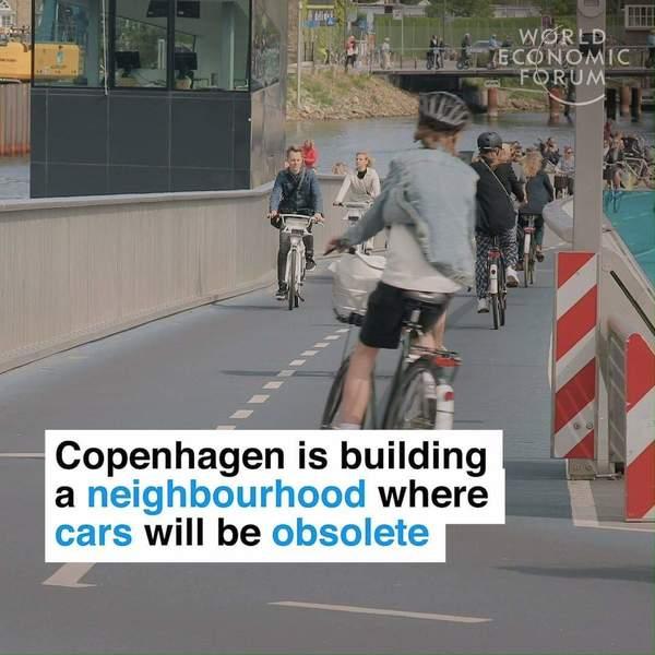 Kopenhagen baut einen neuen Stadtteil, der ohne Autos auskommen soll