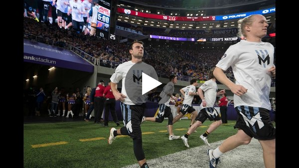 2018 Vikings AUDL Ultimate Frisbee Halftime — FULL VIDEO
