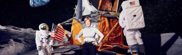 Met haar Space Training Academy wil Nancy Vermeulen uit Hove ruimtetoeristen opleiden