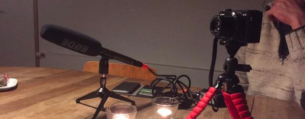 Een podcast-opname in Athene, da's toch al weer twee jaar geleden...