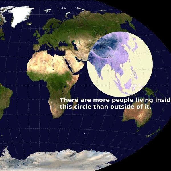 Meer mensen leven in de cirkel dan erbuiten.