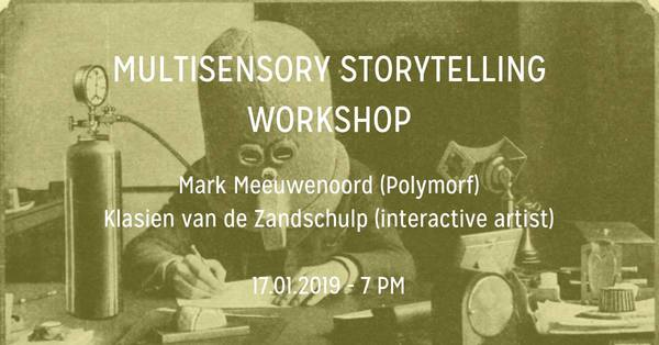 Multisensory Storytelling workshop