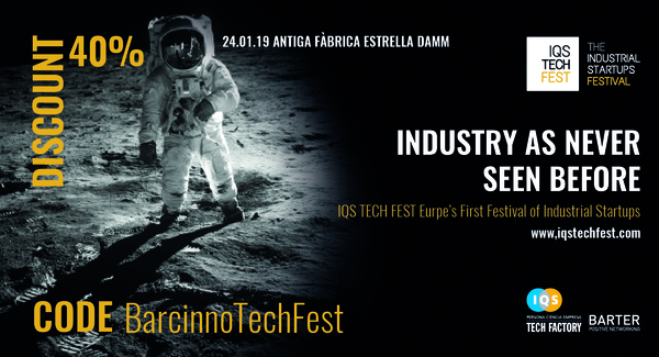 The countdown has started. Get your 40% discount on your General Attendee Ticket with the code: BarcinnoTechFest