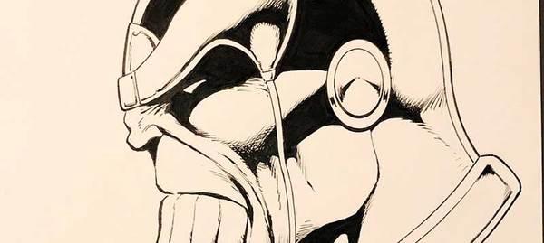 Jim Starlin - Thanos Original Art
