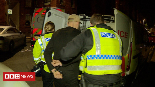 Multiple arrests target 'county lines' drugs trade (BBC News)