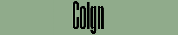 Coign (Colophon)