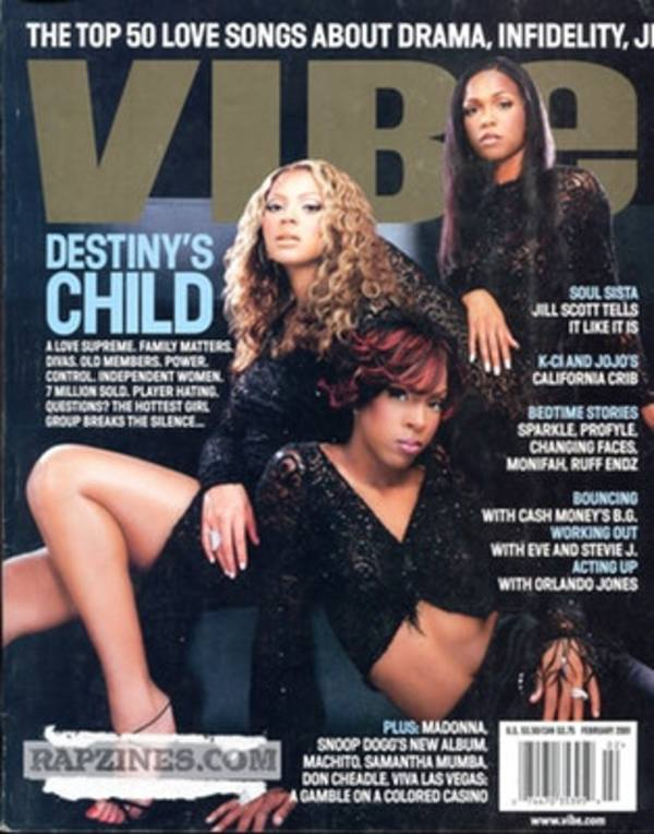 Destiny's Child for Vibe Magazine