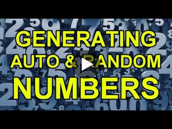 Dynamics 365 2MT Episode 52: Generating auto numbers and random numbers