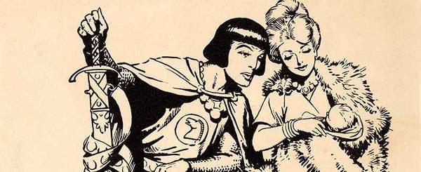 Hal Foster - Prince Valiant Original Art