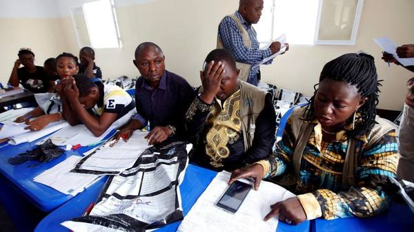 Congo voting data reveal huge fraud in poll to replace Kabila