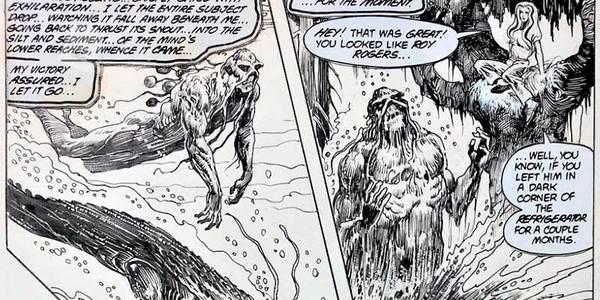 Steven Bissette - Swamp Thing Original Art