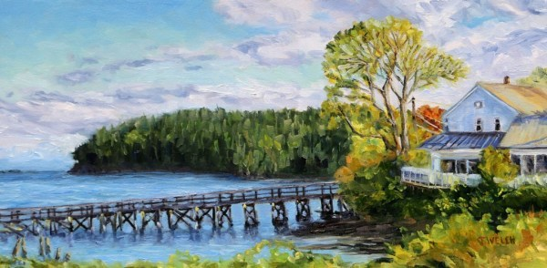 Early Spring Morning at Miners Bay by Terrill Welch | Artwork Archive