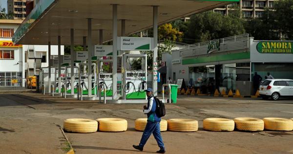 Zimbabweans buying fuel in South Africa   eNCA