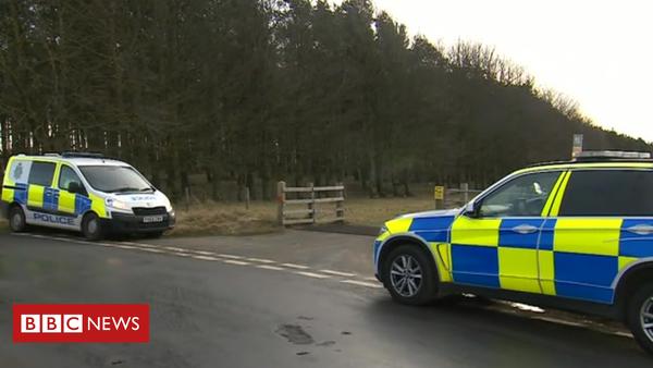 Hardendale Quarry shotgun death: Cumbria Police investigated (BBC News)