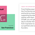 We're hiring a Chief of Staff in San Francisco – First Round – Medium