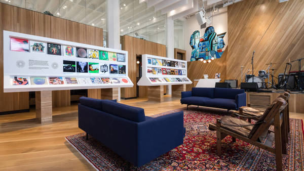 Inside Bandcamp's new venue, record shop and office