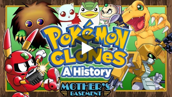 A Brief History of Pokemon Clones