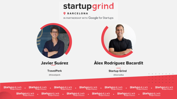Learn more about the success from TravelPerk from their CPO this Wednesday at the Startup Grind event. Save 40% with the code: BarcinnoRocks