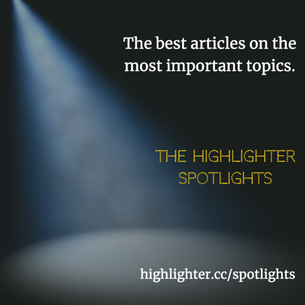 Move over, Netflix. It's time for some binge reading. The Highlighter Spotlights are here! Which topic should I spotlight next? Hit reply and tell me.