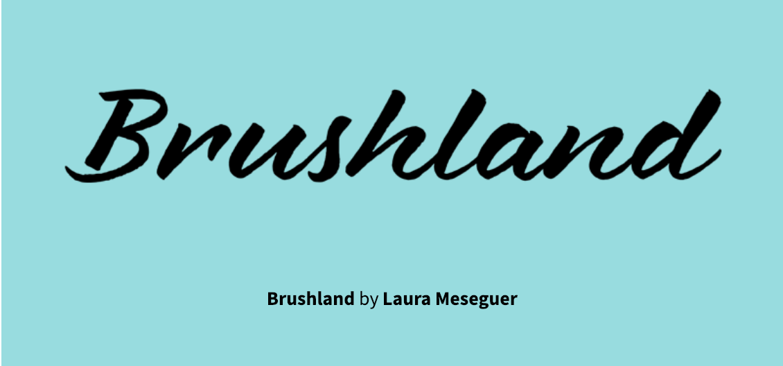 Brushland and five other typefaces from Type-Ø-Tones are 25% off