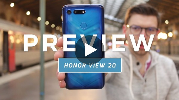 Honor View 20 preview (Dutch)