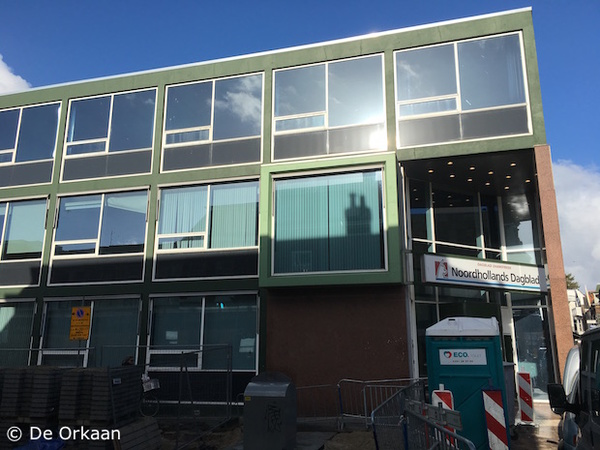 De Geveltoerist te snel af: Noordhollands Dagblad   De Orkaan