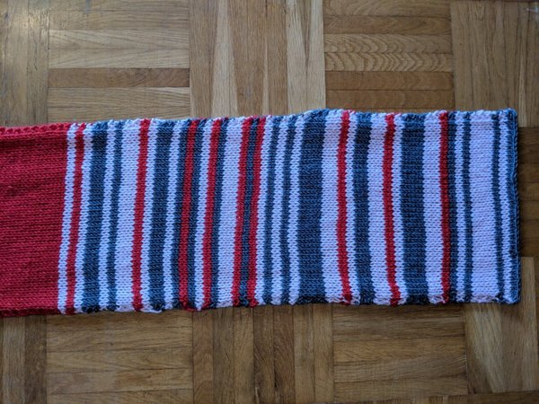 Rail delay scarf goes for $8,500 on eBay