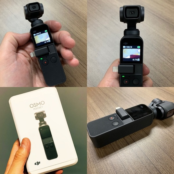 Xmas gift of the very cool DJI Osmo Pocket - so get ready, next issue will be a video!