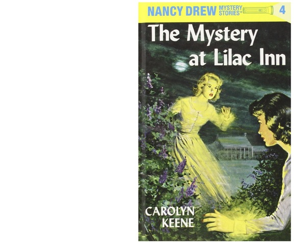 English readers might remember Nancy Drew's covers