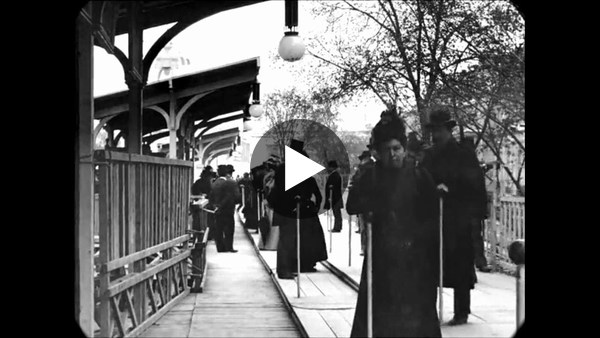 Late 1890s - A Trip Through Paris, France (speed corrected w/ added sound)