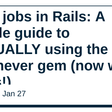 Cron jobs in Rails: A simple guide to ACTUALLY using the Whenever gem (now with tasks!)