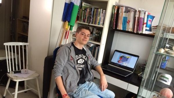 18-jarige kaartenmaker verovert de wereld