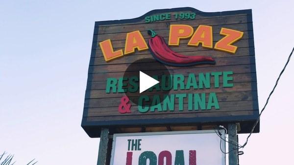 La Paz in Destin, FL offers traditional Tex-Mex and fresh gulf seafood