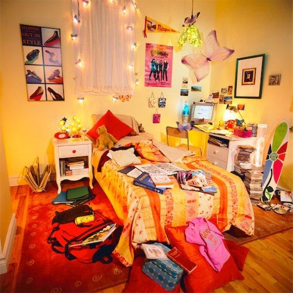 voilà un peu à quoi ressemble ma chambre
