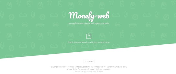 Monefy Web: A web layer for Monefy, the personal finance management tool