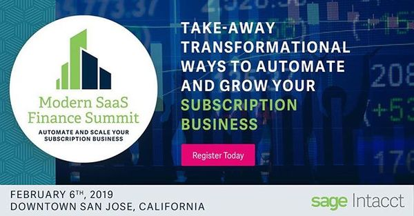 Join FloQast at Sage Intacct's Modern Finance Summit, a complimentary SaaS industry event focused on the 5 key strategies finance leaders need to address to automate and grow their business.